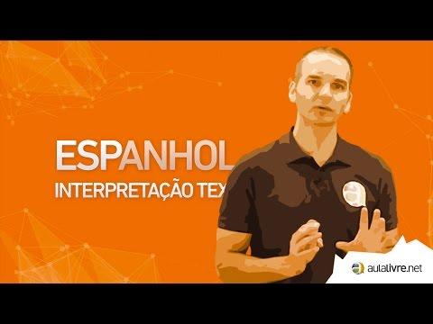 Espanhol - Interpretação de Texto