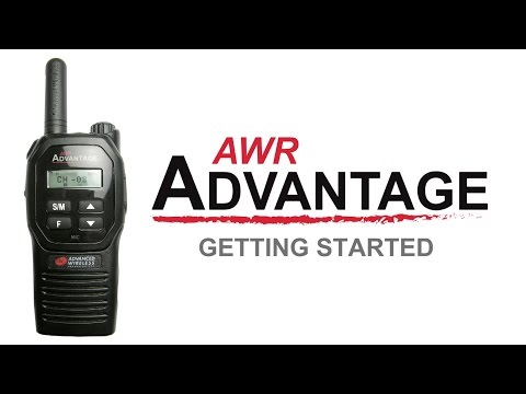 AWR Advantage Getting Started