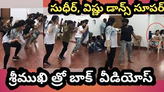Throwback memory: Anchor Sreemukhi dance practice with Sud..