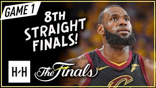 LeBron James Full Game 1 Highlights vs Warriors 2018 NBA Finals - 51 Pts, 8 Ast, 8 Reb