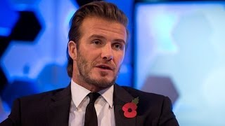 David Beckham: I couldn't watch Manchester United for two years after leaving