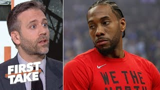 Kawhi is 'sitting on the Iron Throne right now' – Max Kellerman | First Take