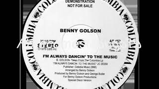 Jazz Funk  - Benny Golson - I'm Always Dancin To The Music