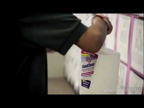 HandClens Hand Sanitizer Edison Elementary in Long Beach, California
