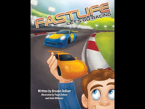 JoFactor Entertainment set to release a new children's book, FASTLIFE, LET'S GO RACING
