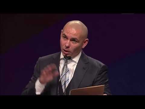Armando Christian Perez, aka Pitbull, opened the National Charter School Conference on July 1, 2013