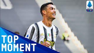 Ronaldo Scores First Goal Of The Match | Juventus 3-2 Inter | Top Moment | Serie A TIM