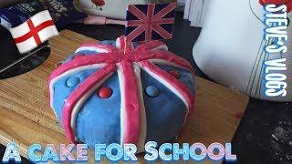Baked a cake for School   Daily Vlog   Steve's Vlogs