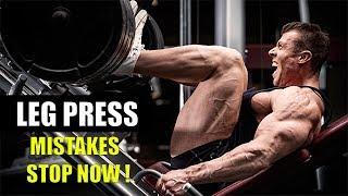 LEG PRESS की 5 गलतियां तुरंत रोकें- 5 MISTAKES STOP NOW!!
