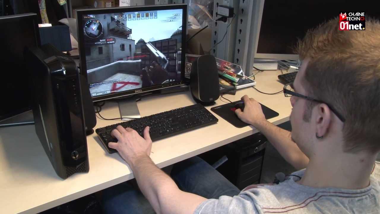 un pc de gamer qui soigne sa ligne dell alienware x51 youtube. Black Bedroom Furniture Sets. Home Design Ideas