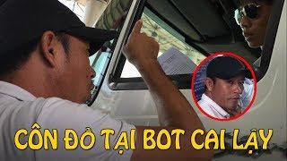 Anh em tài xế đến nhà tên côn đồ khủng bố tại BOT Cai Lậy chiều 2/12/2017