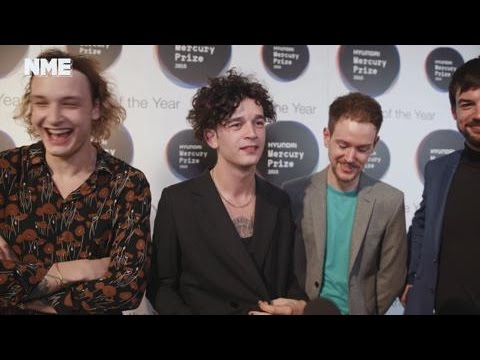 Mercury Awards 2016: The 1975 on critical acclaim, working with an orchestra and