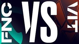 FNC vs. VIT - Playoffs Round 1 Game 1 | LEC Spring Split | Fnatic vs. Vitality (2019)