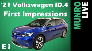 2021 Volkswagen ID.4: E1 - First Impressions