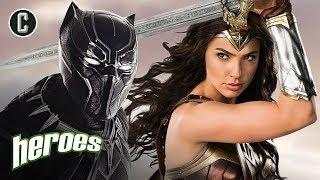 Black Panther Trailer & Wonder Woman Sequel - Heroes