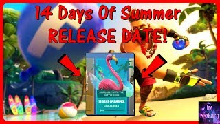 *NEW* 14 Days Of Summer RELEASE DATE! (WHEN It Will START) | Fortnite Battle Royale