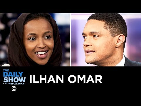 Ilhan Omar - Getting Down to Business with the Congressional Freshman Class   The Daily Show