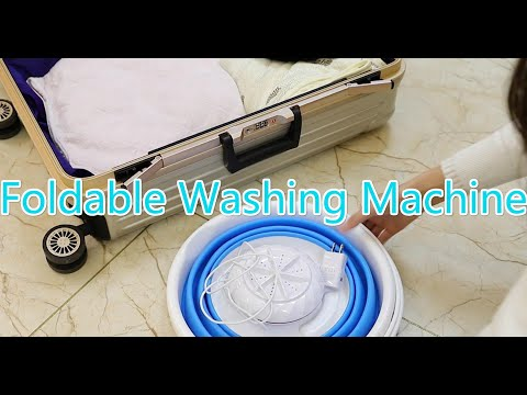video Mini USB Washing Machine