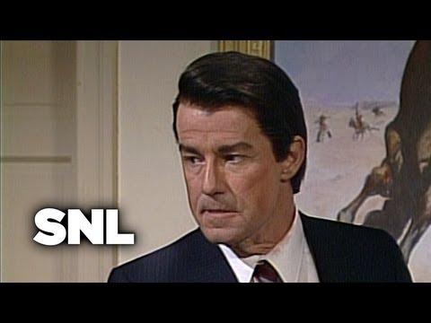 President Reagan, Mastermind - SNL