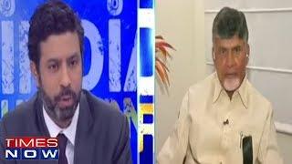 TDP President Chandrababu Naidu In Conversation With Rahul Shivshankar