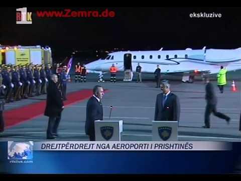 Ramush Haradinaj - Kethimi ne Kosove Live ne RTK