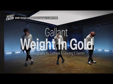 와이낫브로의 최종 안무 영상! 갈란트 'Weight In Gold'♪ WHYNOT-더 댄서(The dancer) 8회