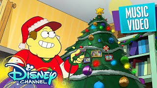 The Best Part of Christmas Music Video 🎄| Big City Greens | Disney Channel