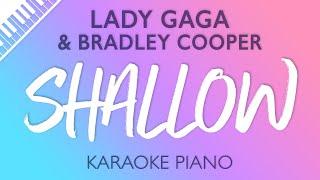 Shallow (Piano Karaoke Instrumental) Lady Gaga & Bradley Cooper