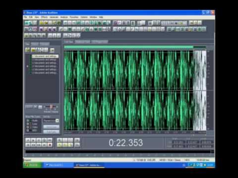 TUTORIAL Adobe Audition COMO HACER UN REMIX parte 2