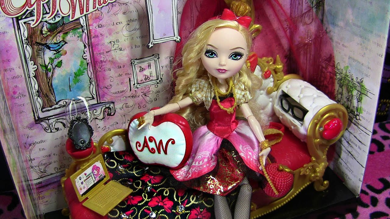 Apple White Fainting Couch Ever After High Playset Review