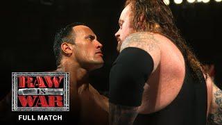 FULL MATCH - The Rock vs. The Undertaker: Raw, Dec. 25, 2000