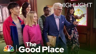 Stuck Inside the Mailroom with the Good Place Blues - The Good Place (Episode Highlight)