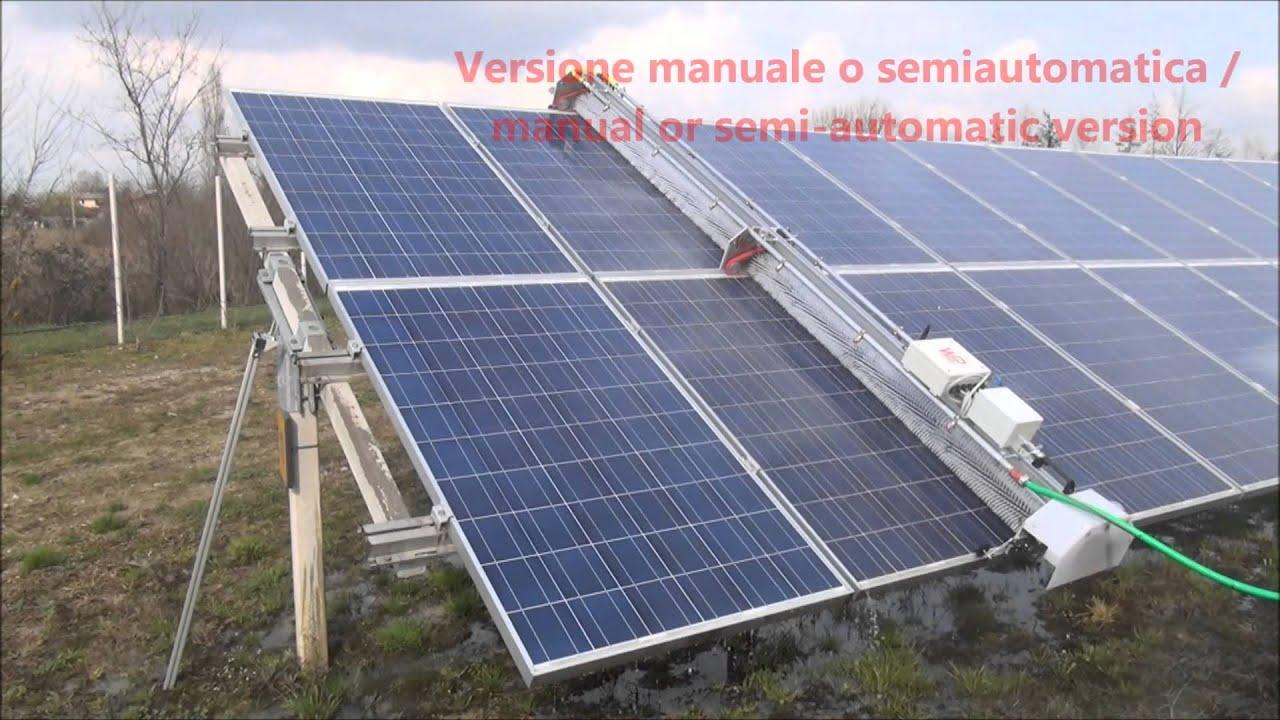 Soluzioni Per Lavaggio E Pulizia Fotovoltaico Solar