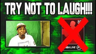 NBA LIVE MOBILE 19 TRY NOT TO LAUGH CHALLENGE!!!