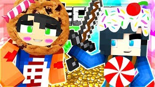 WORLD'S CRAZIEST CANDIES KILL ALL THE PLAYERS!! (Minecraft Bed Wars)