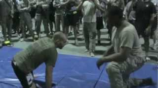 I Battle A Giant On The Mats In Iraq - Mike Swick