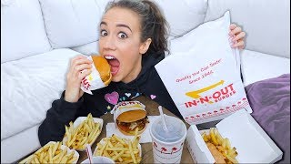 PREGNANCY IN-N-OUT MUKBANG!