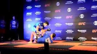 O Jiu-Jitsu de Demian Maia para o UFC em SP
