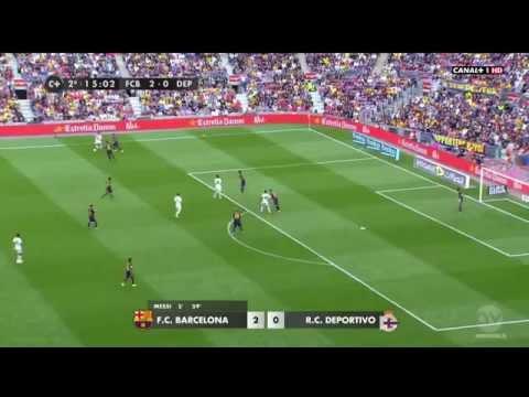 Pha phối hợp không một động tác thừa của Coutinho - Alcacer - Dembele
