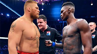UFC 242: Brock Lesnar versus Israel Adesanya MEGAFIGHT!!!