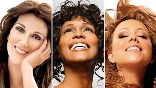 Best Of Mariah Carey, Celine Dion, Whitney Houston Greatest Hits playlist (Full Album)