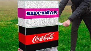 Experiment: Coca Cola VS Mentos