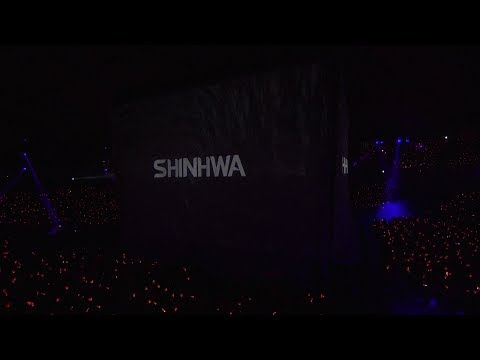 SHINHWA TWENTY FANPARTY : Intro + T.O.P. STAGE CLIP