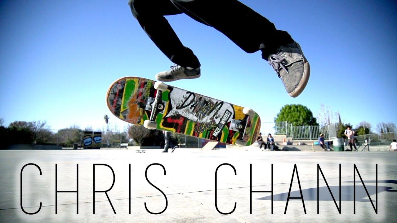 Chris Chann: Amazing Flatground Skateboarding - YouTube