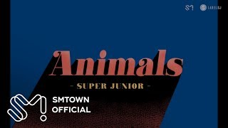 SUPER JUNIOR 슈퍼주니어 'Animals' Visual Pack