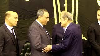 أخبار اليوم   فريد الديب وأحمد موسى في عزاء ابراهيم نافع     -