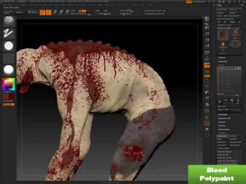 Sculpting a custom Jockey for Left 4 Dead 2 using Zbrush, 3D-Coat, and Photoshop.