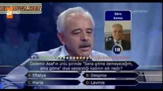Kim Milyoner Olmak Ister 259. bölüm Remzi İnegöl 14.09.2013