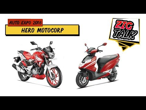 Hero At Auto Expo 2018: What To Expect