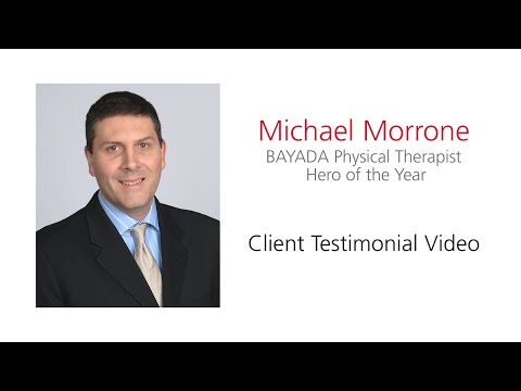 Michael Morrone PT Hero of the Year 2016